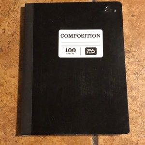 Brand New Composition Notebook 100 sheets